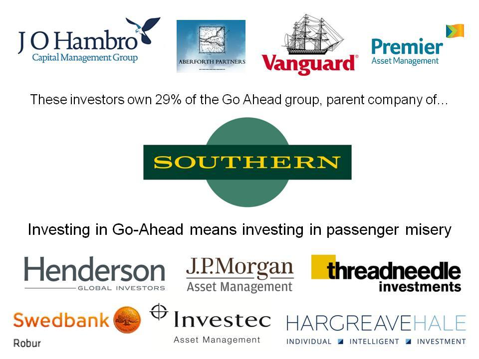 Commuters and small businesses should support the ACES campaign: addressing Southern Rail shareholdersdirectly…