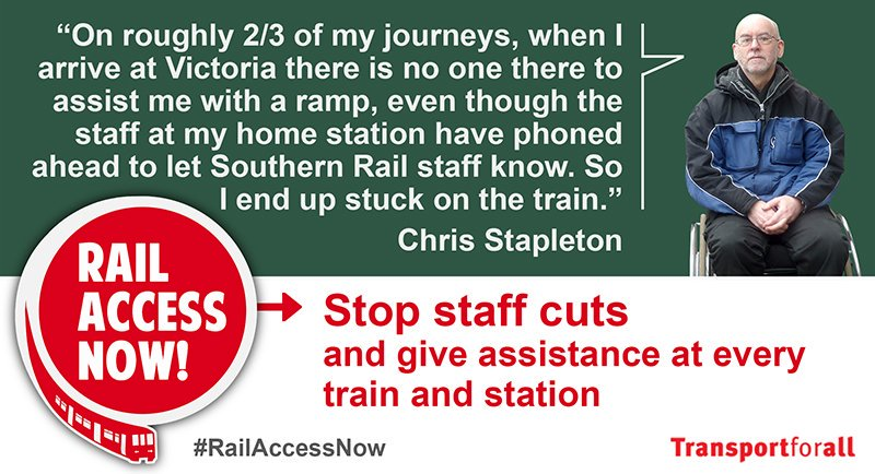 London Bridge Protest this Wednesday: ABC join Transport for All for Southern Railchallenge!