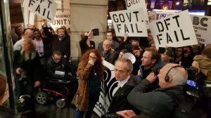 ABC protest at DfT December credit - Bradley Rees