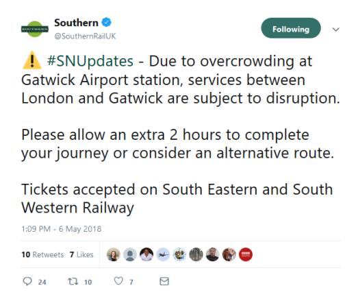 1309 Southern Rail