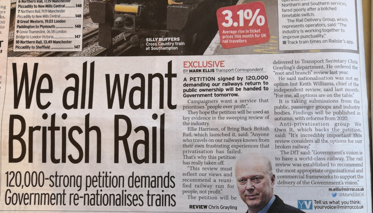 Does the Williams Rail Review really intend to engage with passengers?